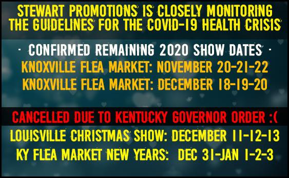 Christmas Expo Map 2020 Louisville Ky Stewart Promotions Kentucky Flea Market   Louisville, KY